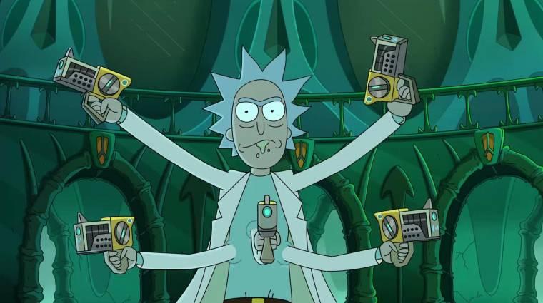 Ekkor folytatódik a Rick és Morty negyedik évada kép