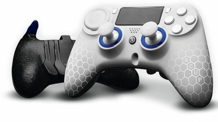 Elképesztően profi PS4 és Xbox One kontrollereket mutatott be a Scuf bevezetőkép