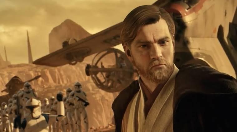 Star Wars Battlefront II - traileren Obi Wan és a Geonosis csatatér bevezetőkép