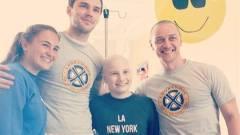 Gyerekkórházba látogatott az X-Men: Dark Phoenix stábja kép