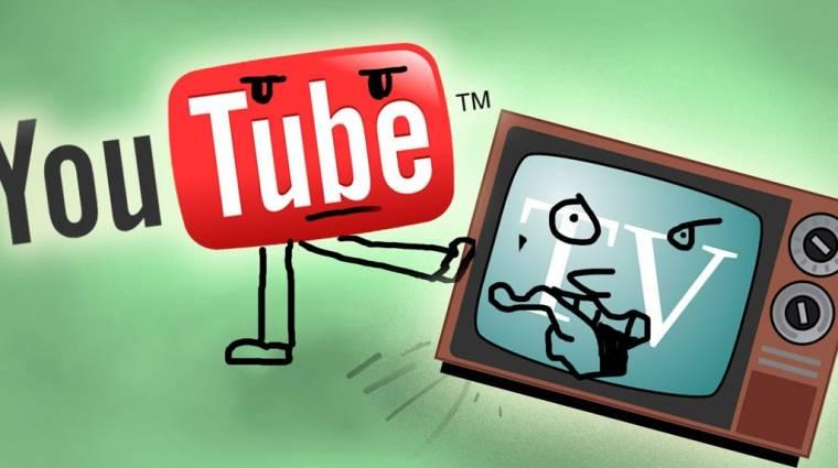 Nemsokára már YouTube-on is tévézhetsz kép