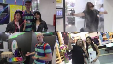 Furcsa és őrült kütyük videón, a Computexen kép