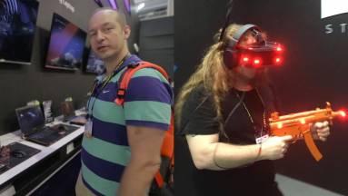 Computex 2017: videón az IMAX VR szemüveg és a guruló sámli kép