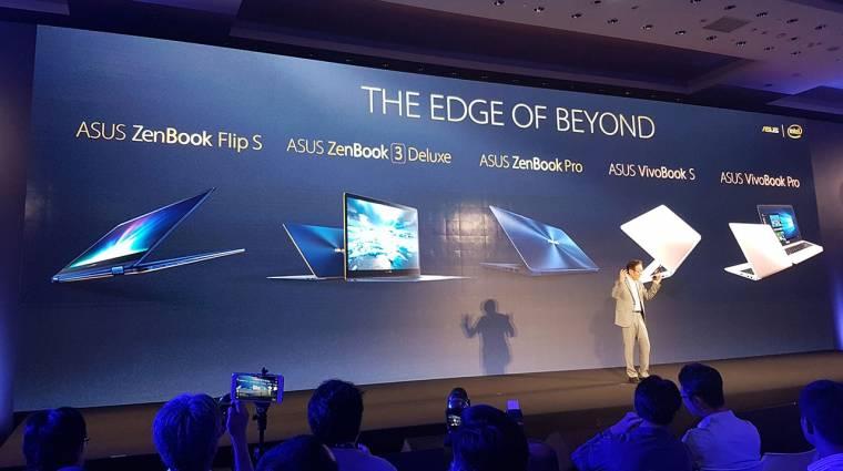 Computex 2017: brutális és gyönyörű új ASUS laptopok érkeztek kép