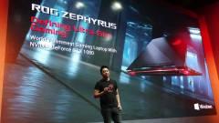 Computex 2017: lapos, erős és világít, avagy az ASUS RoG odacsapott! kép
