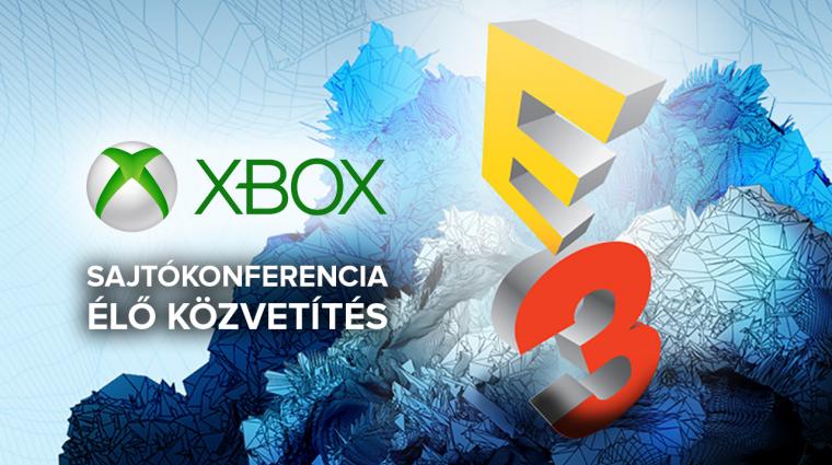 E3 2017 - Xbox sajtókonferencia élő közvetítés bevezetőkép