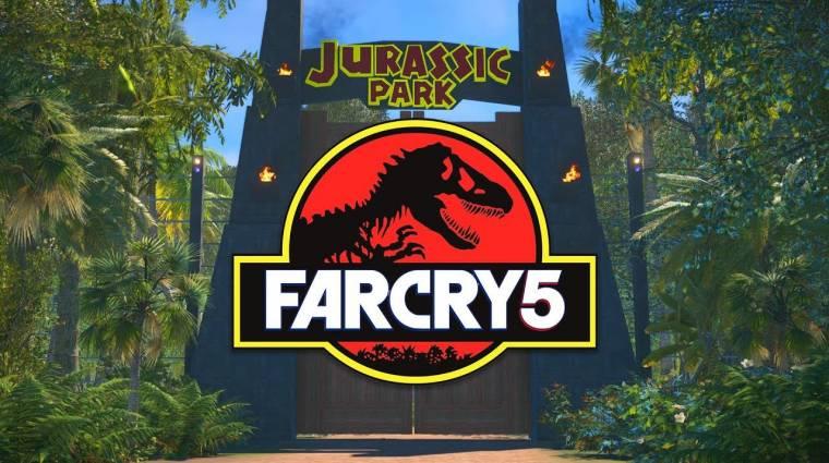 Járd be a Jurassic Parkot ezzel a Far Cry 5 moddal bevezetőkép