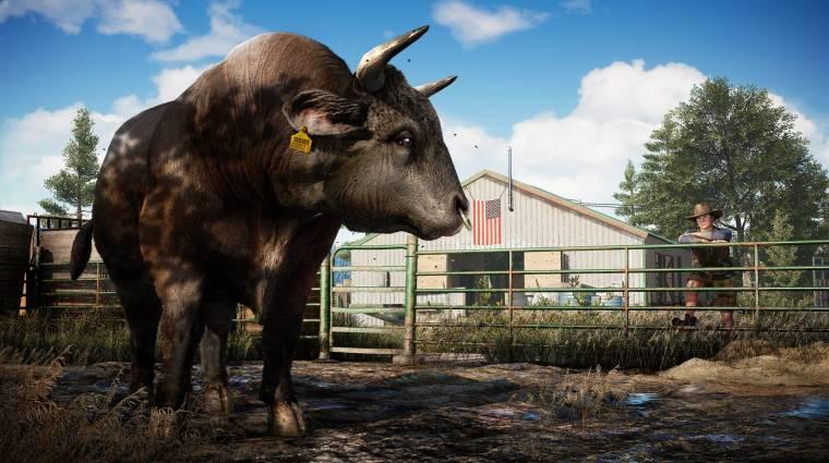 Napi büntetés: a kufircoló tehenek lettek a Far Cry 5 sztárjai bevezetőkép