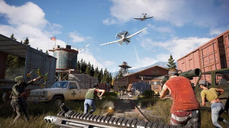 Far Cry 5 - Hurk-öt nyugtatja és a stabilitáson javít az új patch bevezetőkép