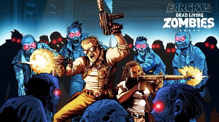 Far Cry 5: Dead Living Zombies - még ebben a hónapban megérkezik a DLC bevezetőkép