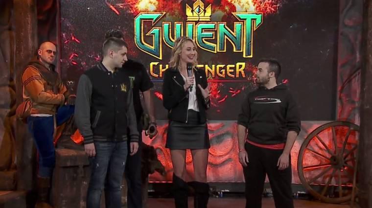 A hétvégi Gwent versenyt egy őrült tekintetű cosplayer dobta fel bevezetőkép