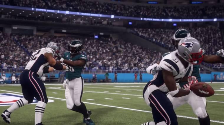Madden NFL 18 - a játék szerint ez a csapat nyeri a Super Bowl LII-t bevezetőkép