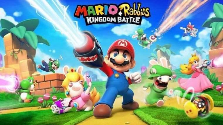 E3 2017 - tényleg jön és mókás lesz a Mario + Rabbids: Kingdom Battle bevezetőkép