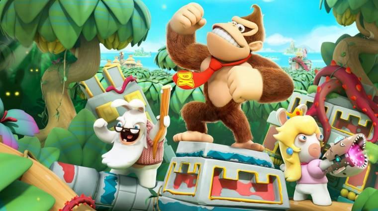 Mario + Rabbids: Kingdom Battle - Donkey Kong is beszáll a csatába bevezetőkép