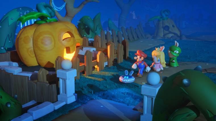 Mario + Rabbids: Kingdom Battle - ilyenek lesznek a harcok és a képességek bevezetőkép