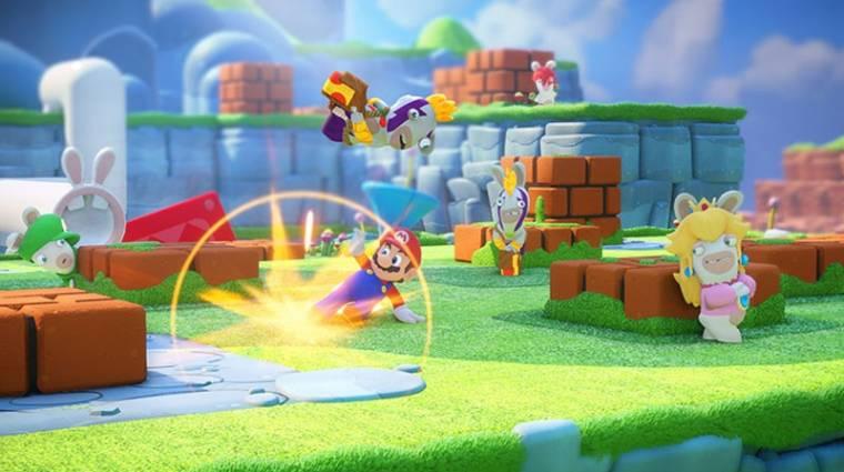 Mario + Rabbids: Kingdom Battle - ötletesre sikerült az élőszereplős trailer bevezetőkép