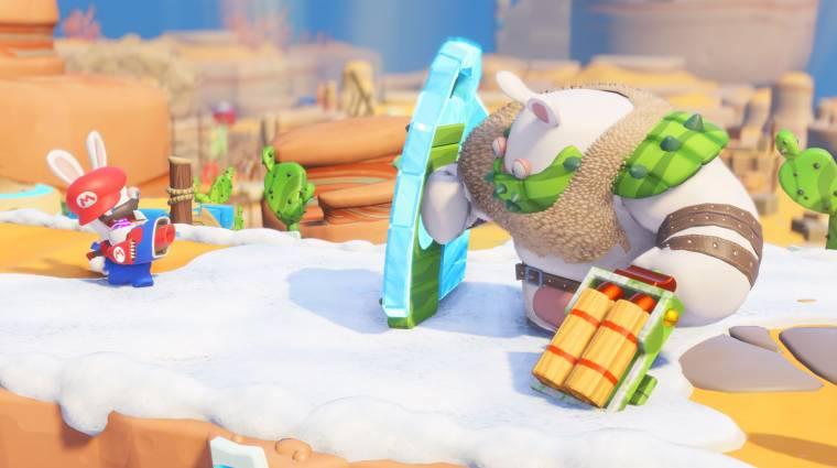 Mario + Rabbids: Kingdom Battle tesztek - a játék, aminek nem kellene működnie bevezetőkép