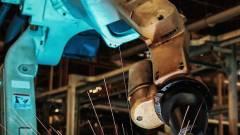 Meghekkelt robotok a gyárakban kép