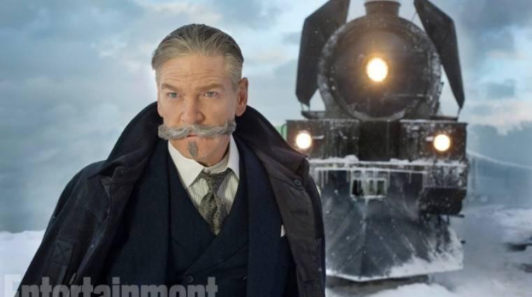 Gyilkosság az Orient Expresszen: itt vannak az első képek! kép