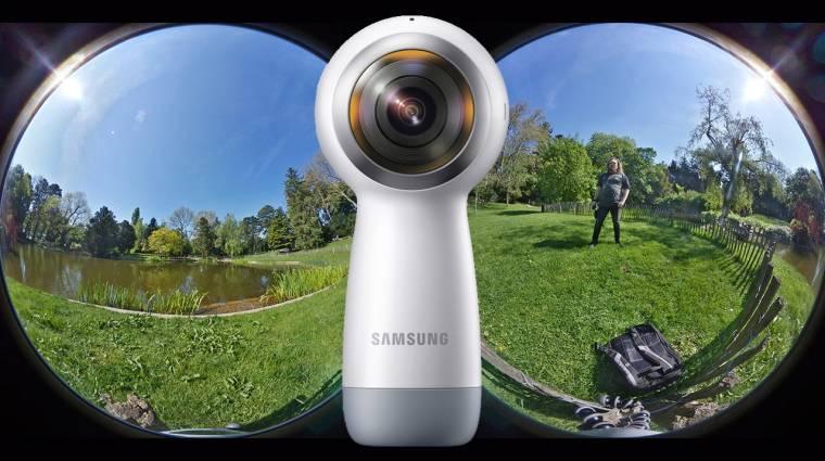 360 fokos szabadság: Samsung Gear 360 (2017) kamera teszt kép