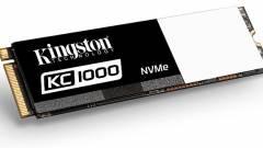 Szélvészgyors SSD a Kingstontól kép