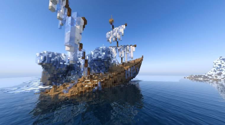 Teljes értékű MMORPG épült a Minecraftban bevezetőkép