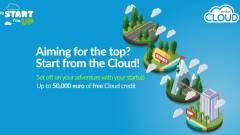 Felhő és támogatás induló vállalkozásoknak kép