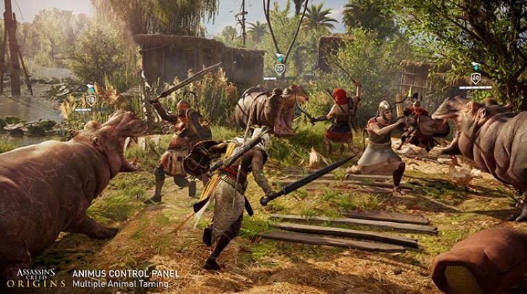 Assassin's Creed: Origins - rengeteg beállítási lehetőséget ad az Animus Control Panel bevezetőkép