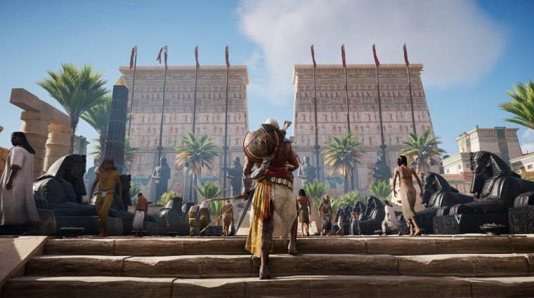 Assassin's Creed: Origins - harminc perc Memphiszben bevezetőkép