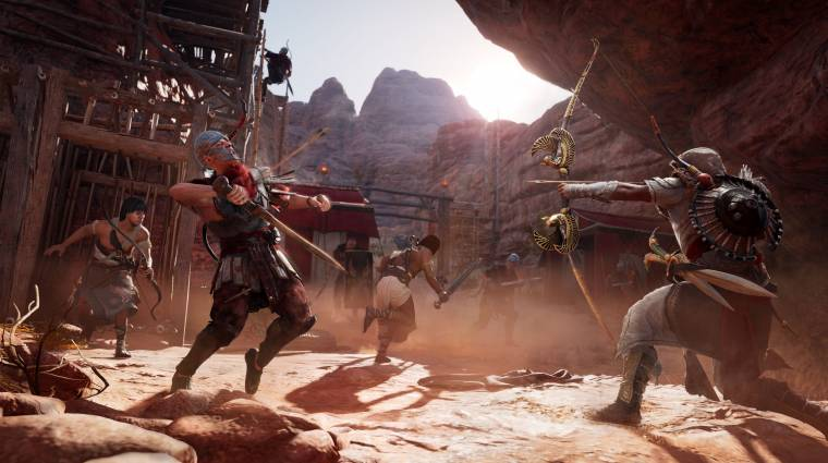 Assassin's Creed: Origins - ütős trailert kapott a The Hidden Ones bevezetőkép