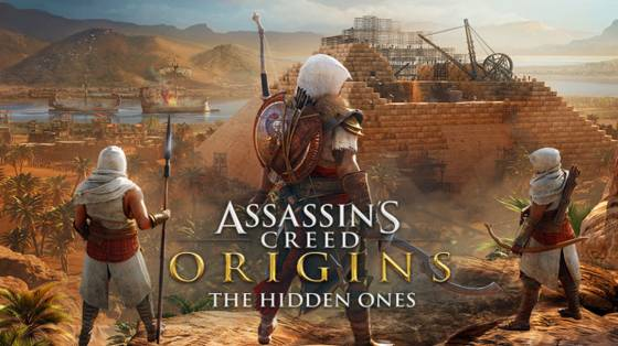 Assassin's Creed Origins - The Hidden Ones infódoboz