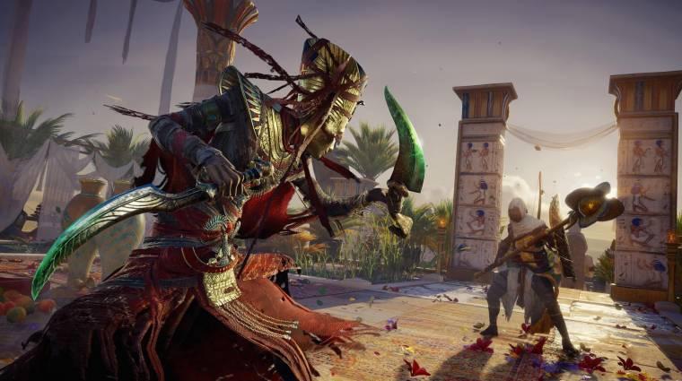 Assassin's Creed Origins - nézz bele a múmiás DLC-be bevezetőkép