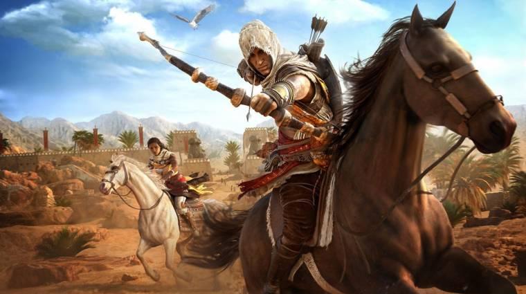 Nincs még meg az Assassin's Creed: Origins? Vidd el most akciósan! bevezetőkép