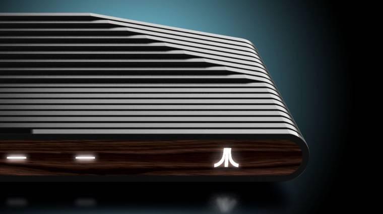 Atari VCS - modern kontroller és klasszikus joystick is jár hozzá bevezetőkép