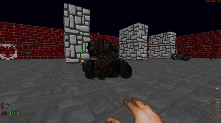 A StarCraft egységei a Doom II-ben is elég menők bevezetőkép