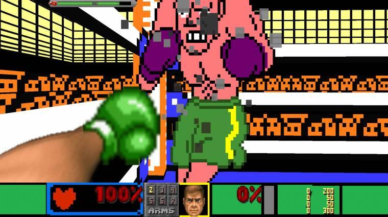 Igazi retró csoda a Punch Out belső nézetben Doom 2 motorral bevezetőkép