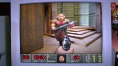 Vajon egy kartonpapíron is elfut a Doom 2? kép