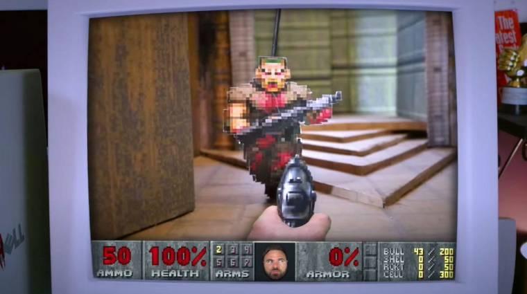 Vajon egy kartonpapíron is elfut a Doom 2? bevezetőkép