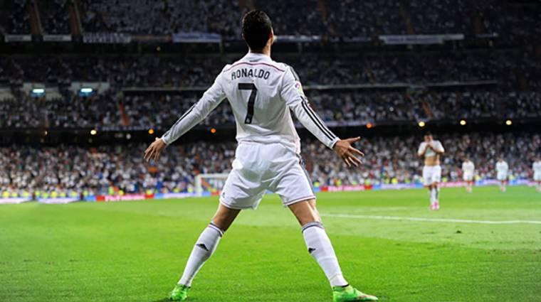 Így feszít Cristiano Ronaldo a FIFA 18 borítóján bevezetőkép