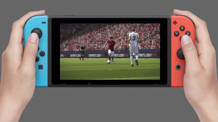 EA Play - ezt tudjuk a FIFA 18 Switches változatáról bevezetőkép
