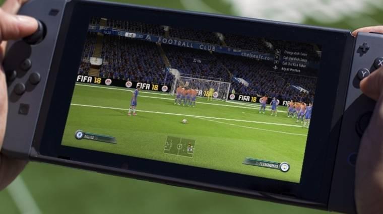 FIFA 18 - jó oka van vannak, hogy a switches verziót nem a Frostbite motor hajtja bevezetőkép