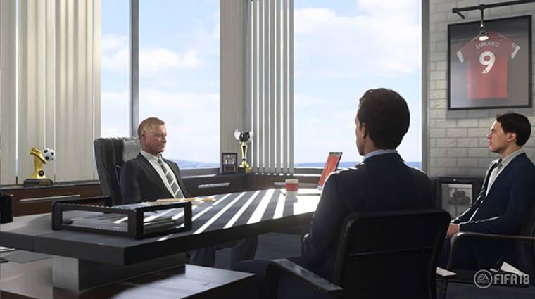 FIFA 18 - még az átigazolásokról tárgyalni is sokkal jobb élmény lesz bevezetőkép