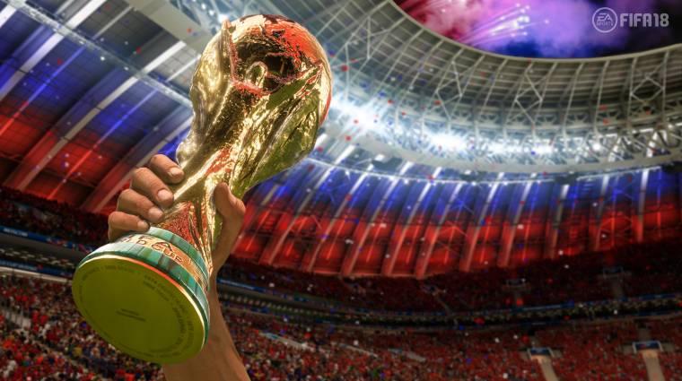 FIFA 18 - ingyen jön a foci-vb játékmódja bevezetőkép