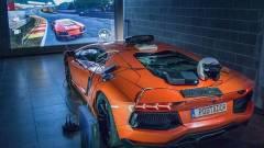 A Forza rajongó, aki a Lamborghinijéből csinált kontrollert kép