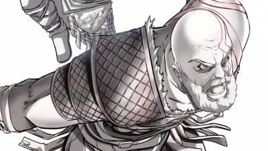 God of War - így nézne ki Kratos és Atreus anime stílusban