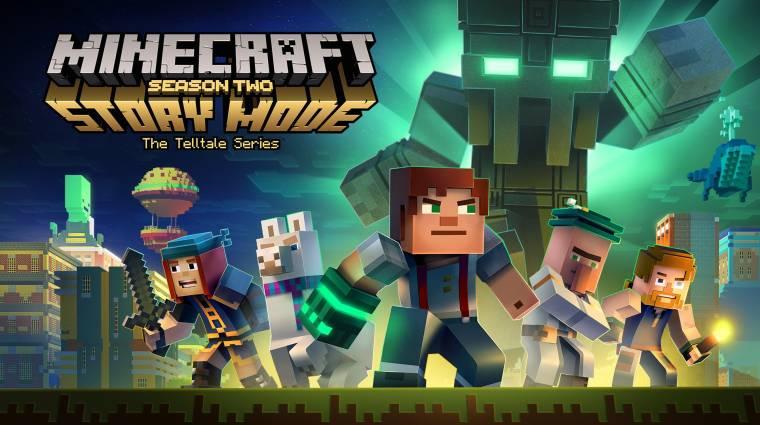 Minecraft: Story Mode - jövő hónapban kezdődik a második évad bevezetőkép
