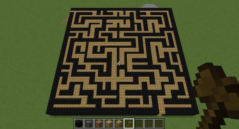 látvány labirintus)