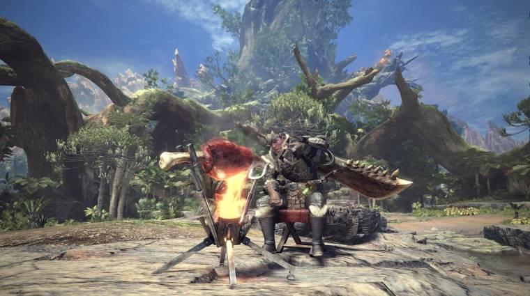 Monster Hunter World - megjött az első igazi meztelen mod bevezetőkép