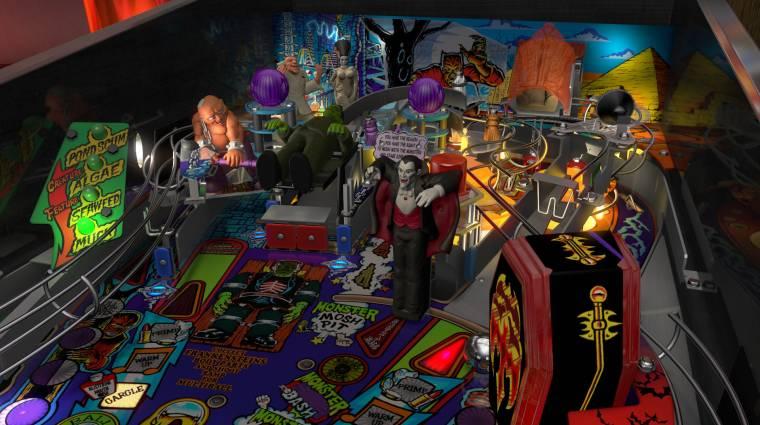 Pinball FX3 - klasszikus horrorfilmes szörnyeket hoz a halloweeni DLC bevezetőkép