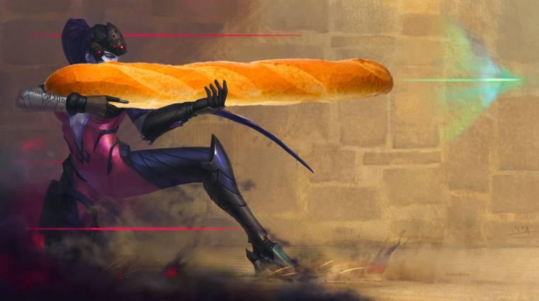 Overwatch - ez a srác jobban céloz egy baguette-tel, mint te egérrel bevezetőkép